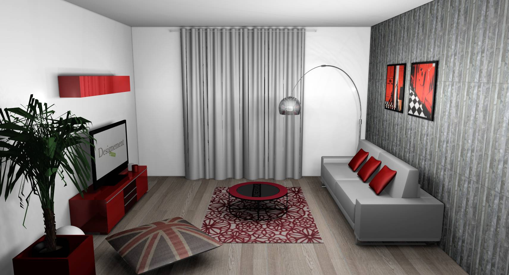tapisserie moderne pour salon. Black Bedroom Furniture Sets. Home Design Ideas