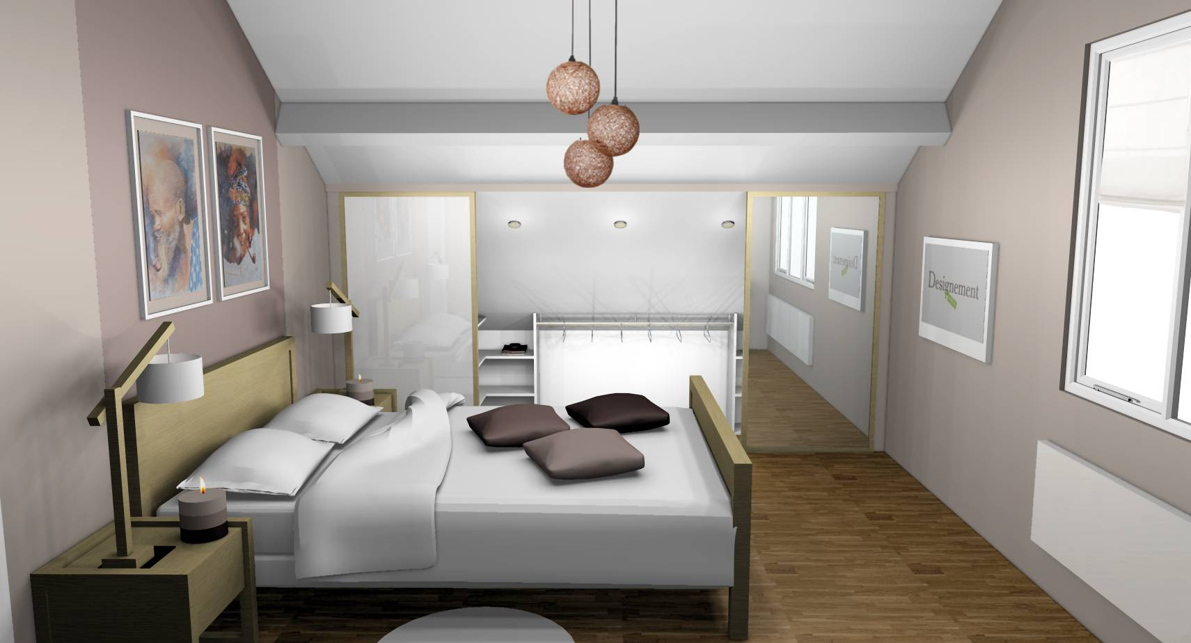 Chambre avec dressing – lombards