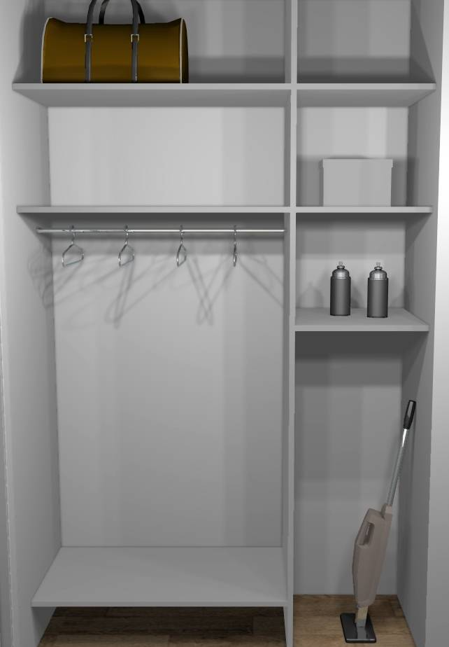 Pin am nagement int rieur entr e de maison avant on pinterest Amenagement placard sur mesure