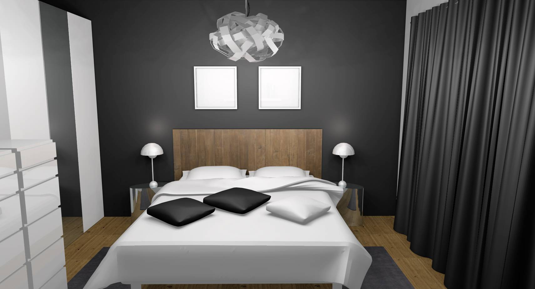 Fabulous ragencement et dcoration duune chambre adulte for Chambre parentale design