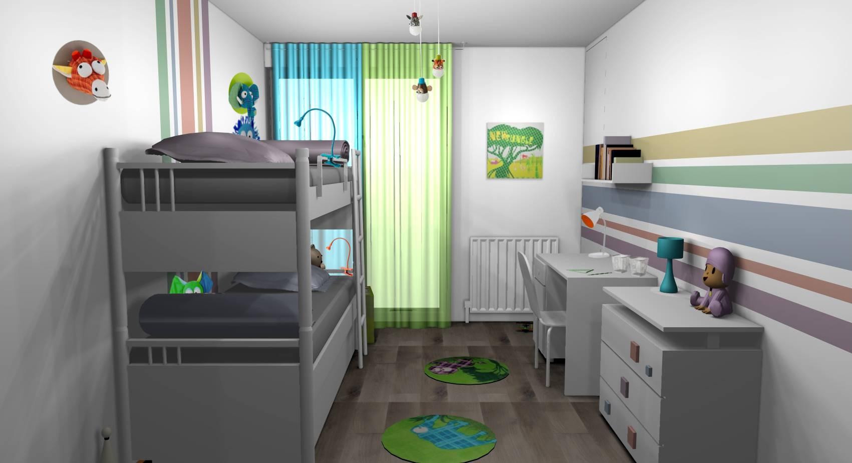 Deco Jungle Chambre Enfant décoration d'une chambre de petits garçons à boulogne
