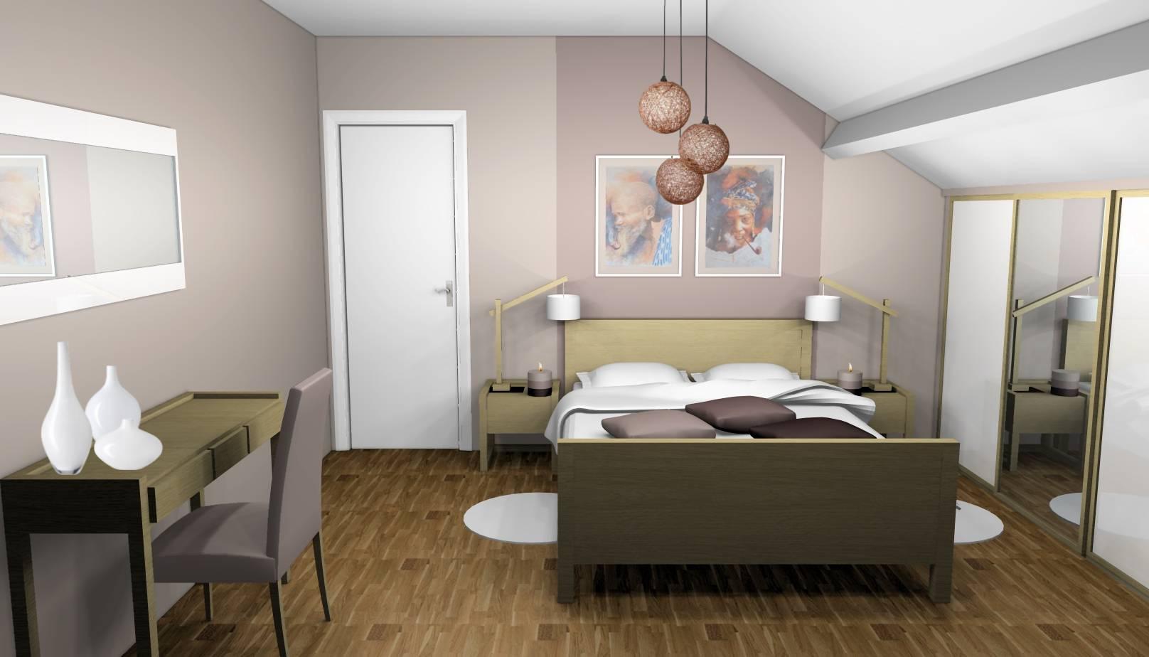 Décoration Chambre Taupe Et Beige chambre beige archives - designement vôtre