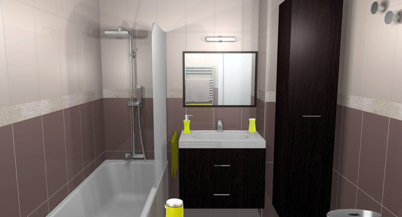 Salle De Bain Chocolat Turquoise salles de bain archives - designement vôtre