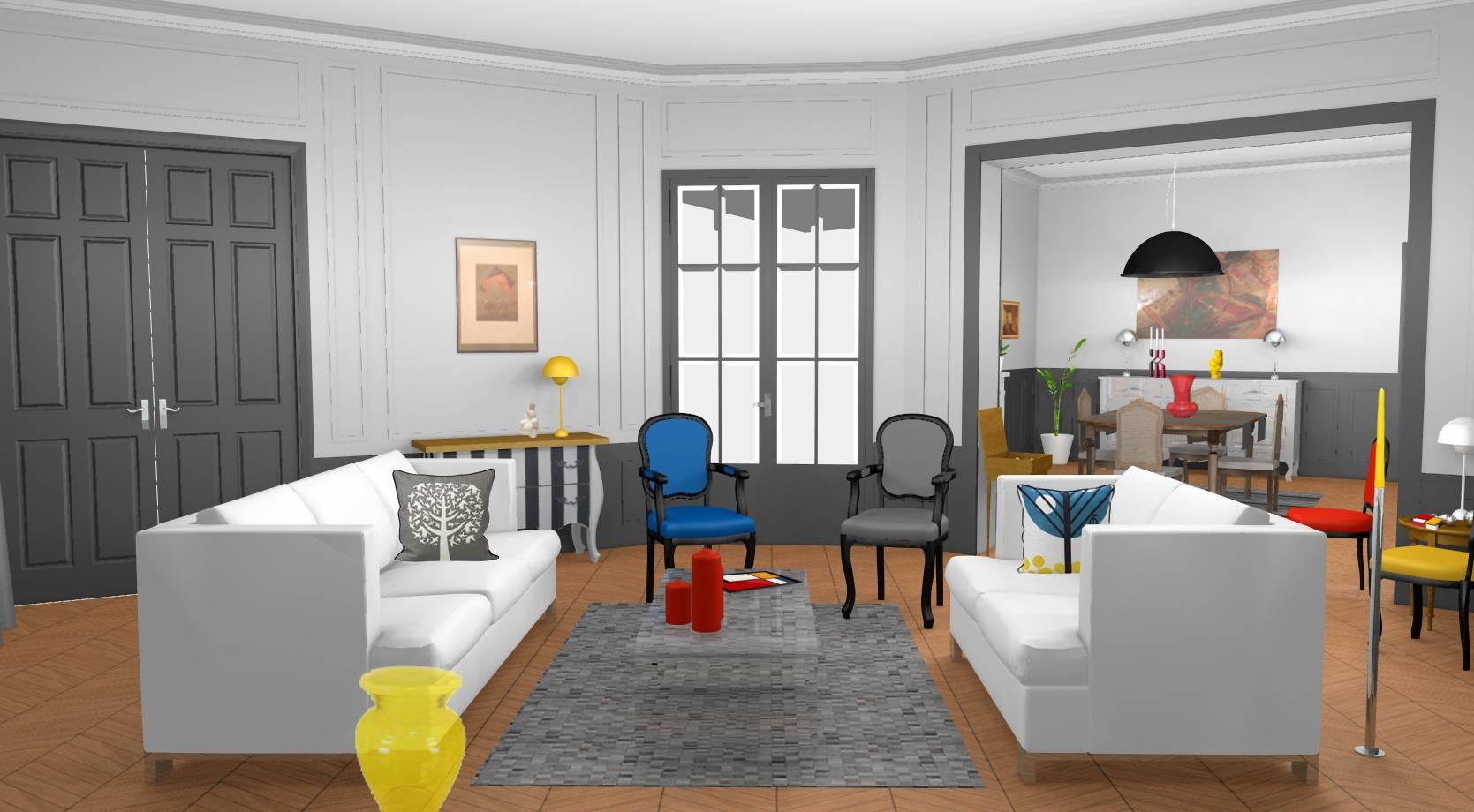 Idée Déco Appartement Jeune décoration et modernisation d'un appartement haussmannien à