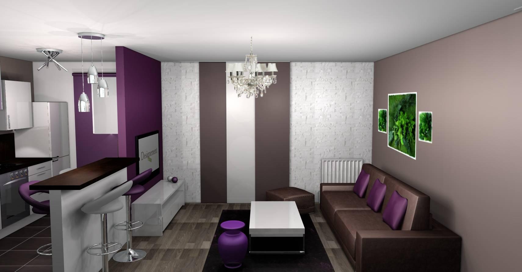 Deco Salon Marron Et Bleu 100+ [ photo peinture salon gris et blanc ] | indogate com