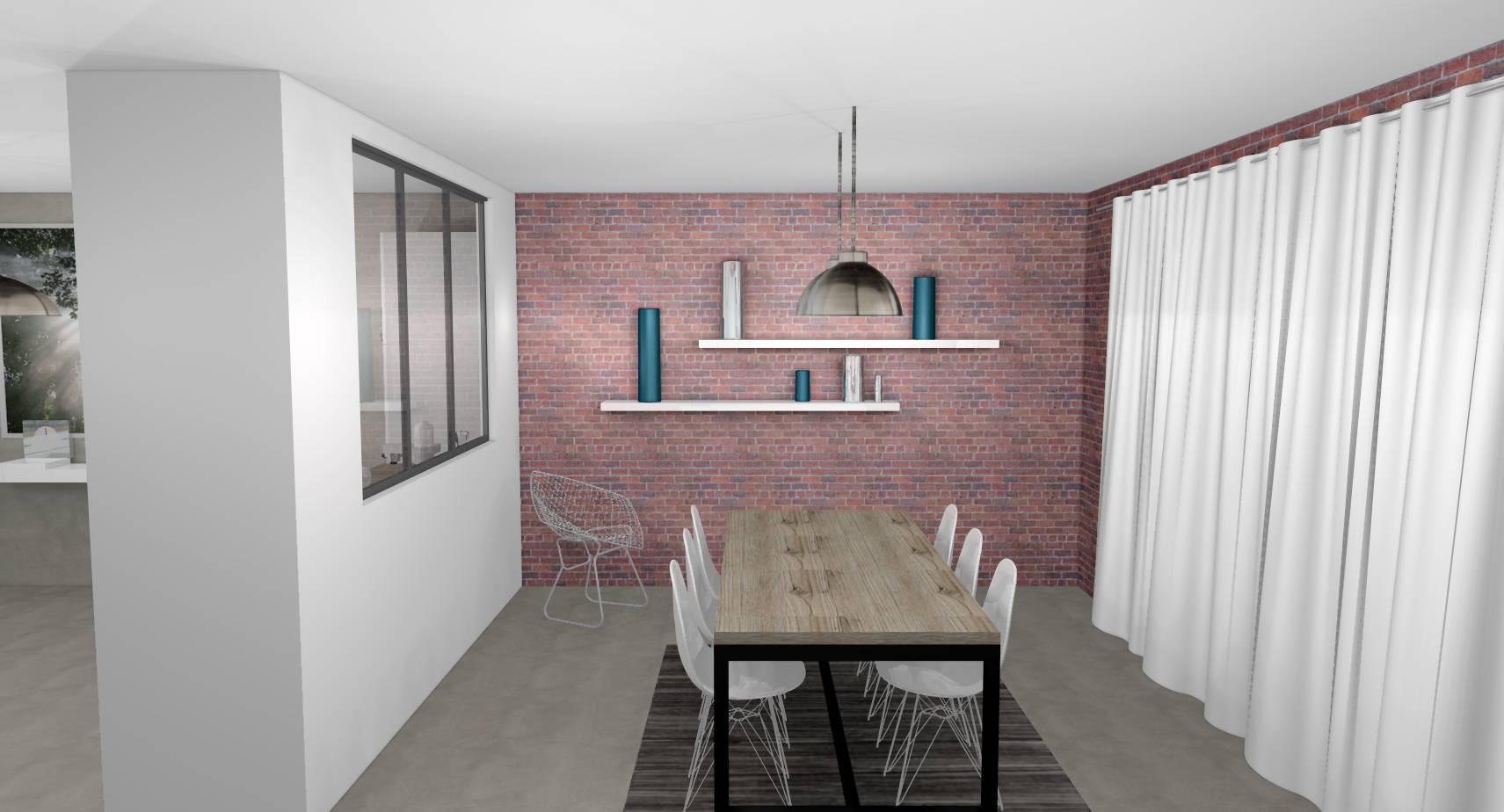 Reagencement Architectural Et Decoration Industrielle D Une Salle