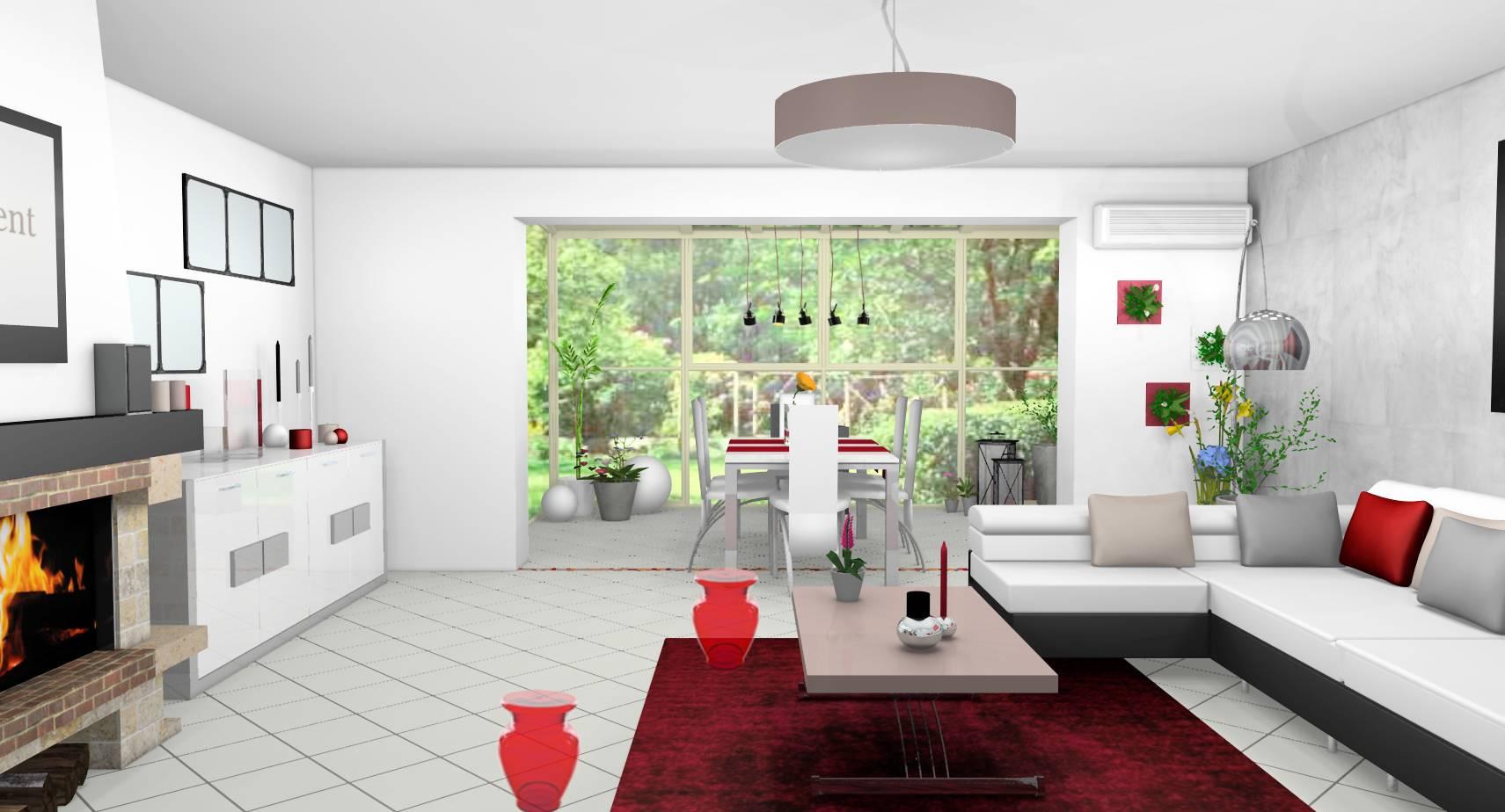 Deco Veranda Interieur décoration d'intérieur d'une pièce de vie avec véranda à