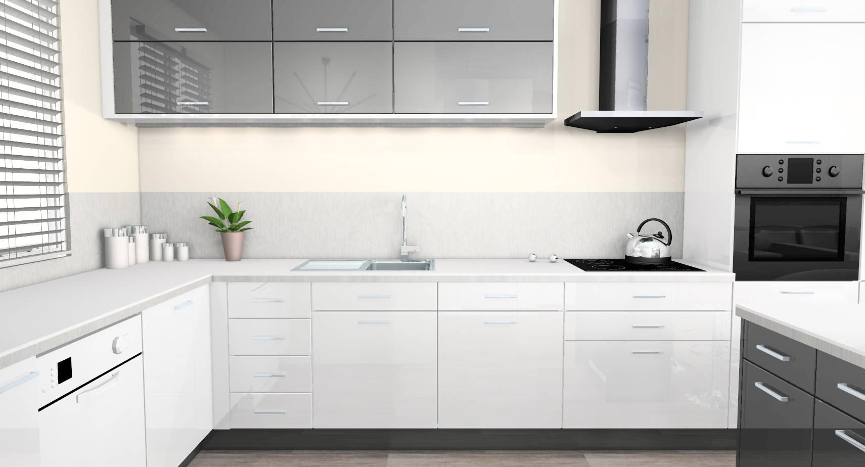 Meuble De Cuisine Gris Et Blanc Blog Design D Int Rieur