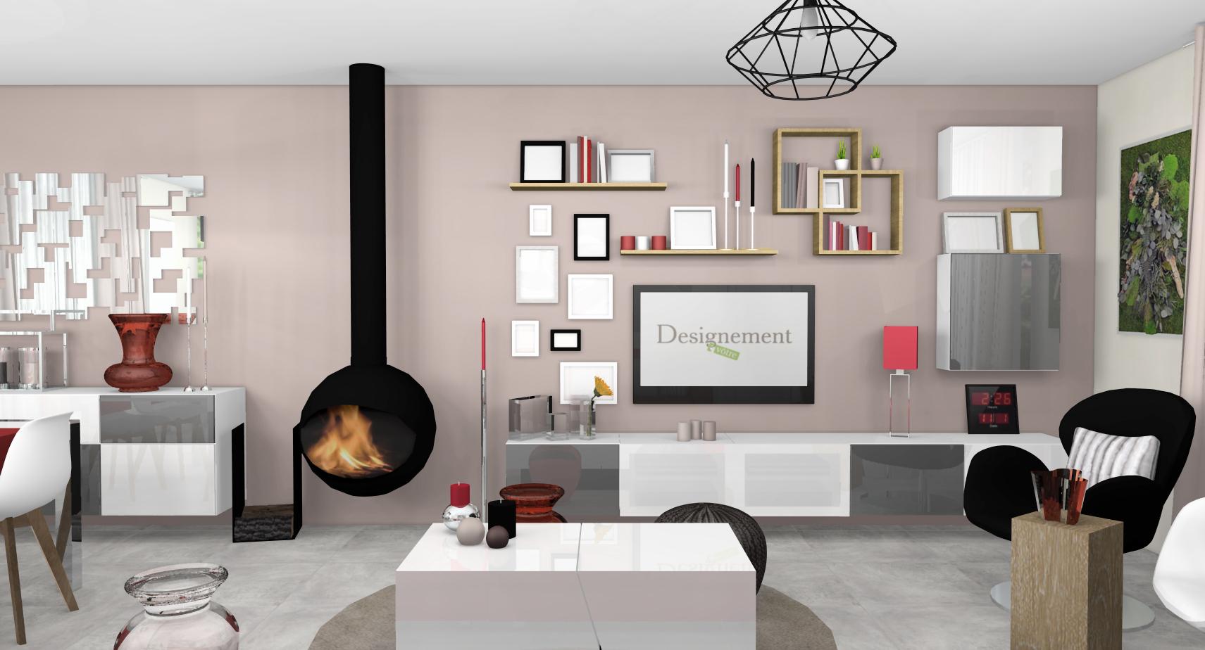 Carrelage Piece De Vie l'asymétrie en décoration d'intérieur - designement vôtre